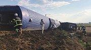 Na severozápadě Turecka vykolejil vlak