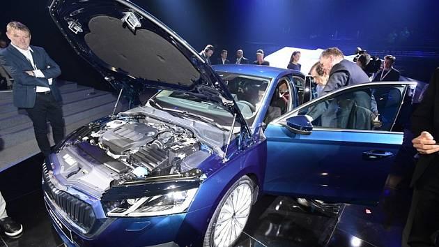Škoda Octavia čtvrté generace.