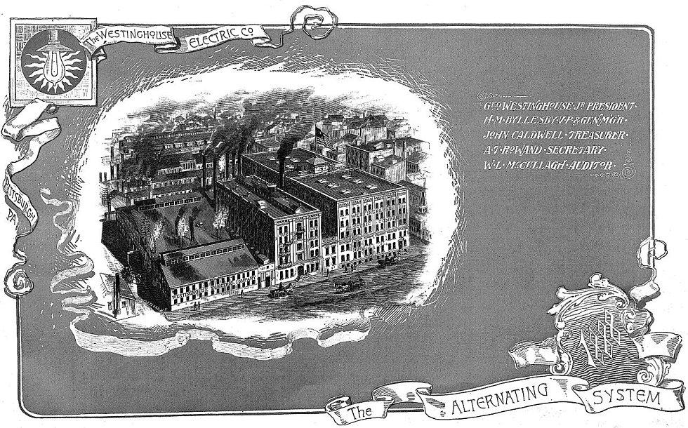 Budovy amerického elektrotechnického koncernu Westinghouse v Pittsburghu, jenž v roce 1920 zásadně přispěl ke startu první komerční rozhlasové stanice