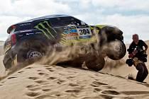 Joan Nani Roma na snímku při letošní Rallye Dakar