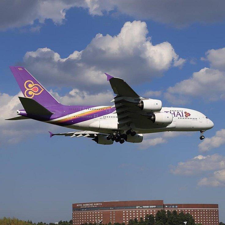 Airbus A380 společnosti Thai Airways
