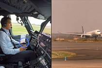 Když piloti jen přihlíží. První vzlet Airbusu A350-1000 jen za pomoci počítačů.