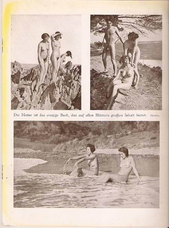 Důkazem je dobový naturistický časopis Licht-Land