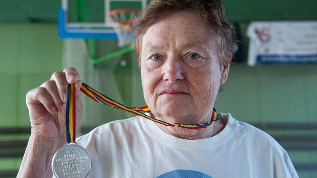 Basketbalistka Milena Jindrová