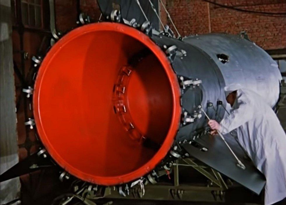 Její síla odpovídala zhruba 3800 hirošimským bombám
