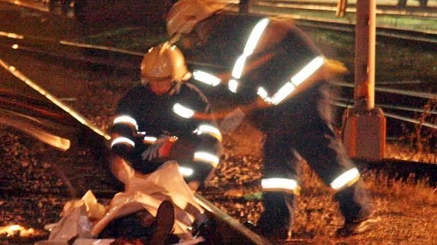 Místo neštěstí na brněnském hlavním nádraží