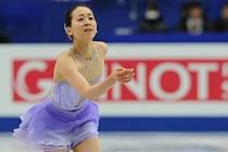 Krasobruslařka Mao Asadaová vyhrála na MS v Saitamě krátký program ve světovém rekordu.