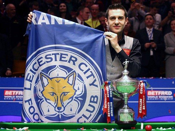 Mark Selby, mistr světa ve snookeru.