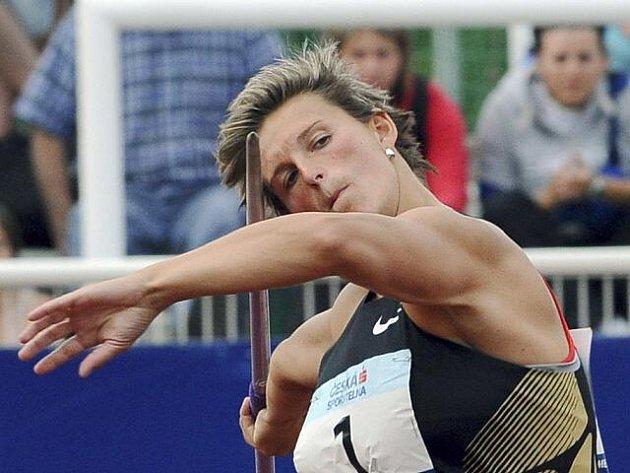 Oštěpařka Barbora Špotáková zvítězila 13. června na pražské Julisce na atletickém Odložilově memoriálu.