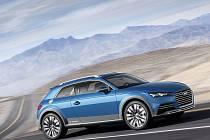 Koncept Audi allroad shooting brake.
