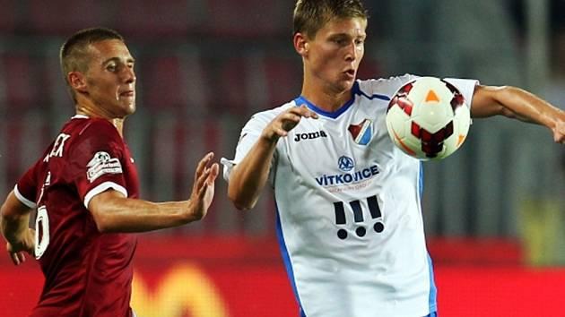 Utkání Gambrinus ligy mezi AC Sparta Praha a FC Baník Ostrava.