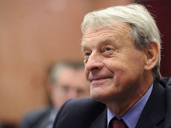 Místopředseda ČOV František Dvořák.