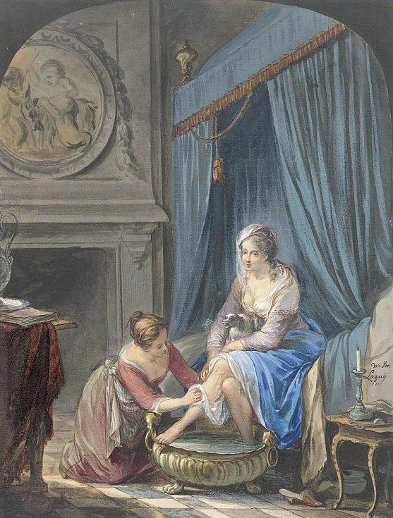 Ačkoliv důkladná hygiena bývala vminulých dobách mnohdy zanedbávána, parfémy či natírání vonnými esencemi patřily ksamozřejmostem.
