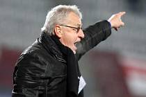 Trenér Olomouce Petr Uličný.