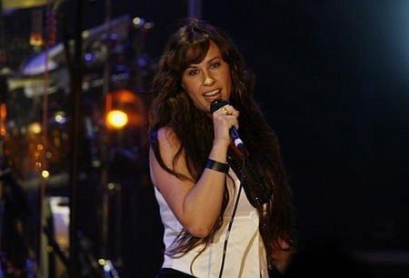 Kanadská zpěvačka Alanis Morissette.