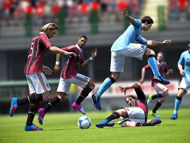 Počítačová hra FIFA 13.