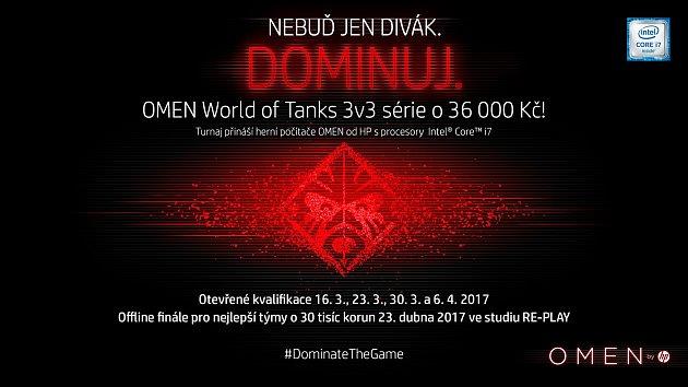 Turnaj Omen World of Tanks 3v3 Cup.
