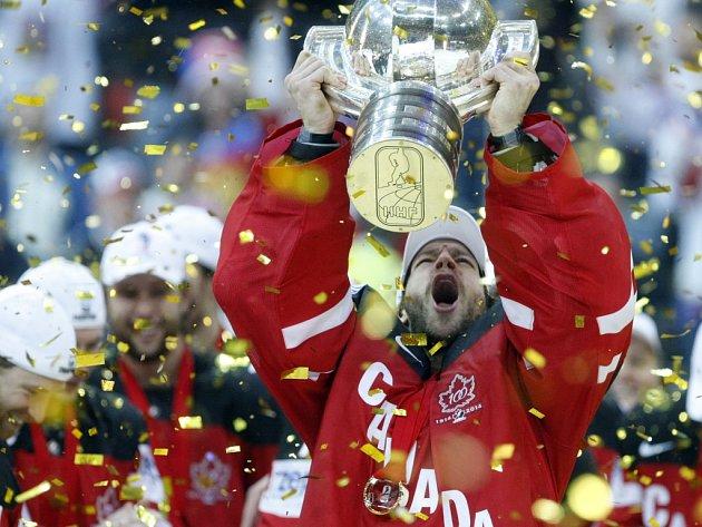 Hokejisté Kanady se v Praze stali mistry světa.