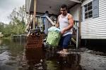 Hurikán Florence způsobil rozsáhlé záplavy, ty nejhorší však teprve přijdou