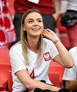 Polská fanynka. Fotbalové MS Rusko 2018
