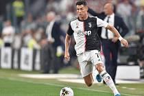 Fotbalista Juventusu Cristiano Ronaldo.