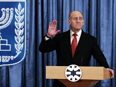Izraelský premiér Ehud Olmert
