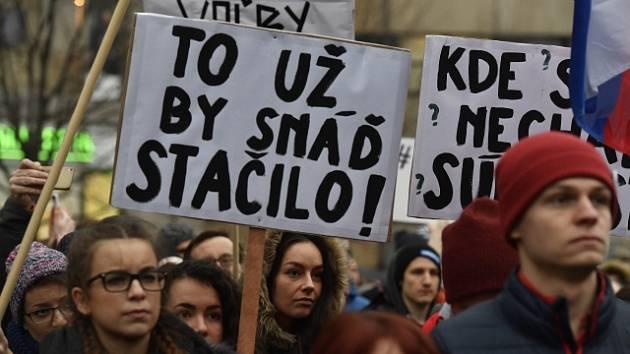 Demonstrace na Slovensku