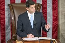 Republikánský kongresman Paul Ryan.