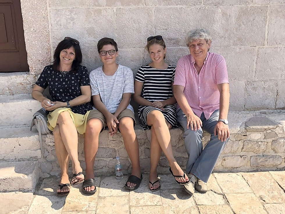 Pavlicovi na rodinné dovolené