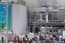 Výbuchy na bruselském letišti si vyžádaly několik lidských životů.