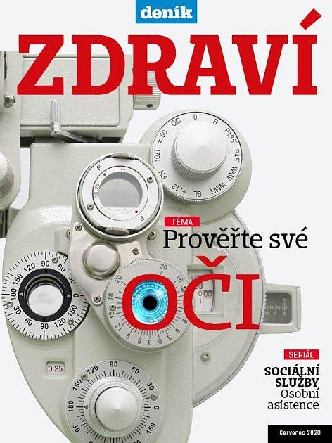Titulní strana magazínu Zdraví