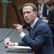 Spoluzakladatel a ředitel Facebooku Mark Zuckerberg