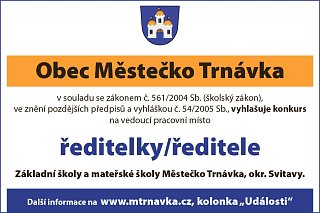 Nabdky prce ve mst Msteko Trnvka a okol | sacicrm.info