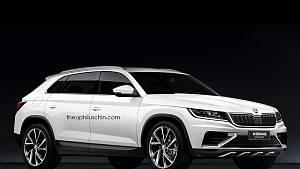 Možná podoba Škody Kodiaq ve verzi kupé-SUV.