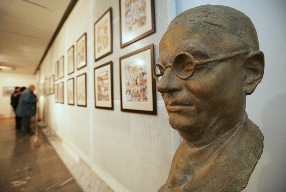 Josef Lada, výstava v Praze