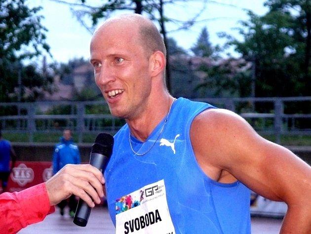 Petr Svoboda splnil limit pro mistrovství Evropy na 110 metrů překážek.