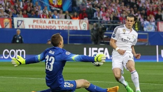 Jan Oblak zneškodnil i jasnou příležitost Garetha Balea