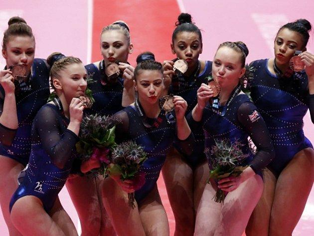 Gymnastky USA obhájily titul mistryň světa.