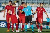 Utkání skupiny 4 kvalifikace na ME 2021 fotbalistů do 21 let: Česka republika - Chorvatsko