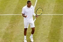 Nick Kyrgios na Wimbledonu.