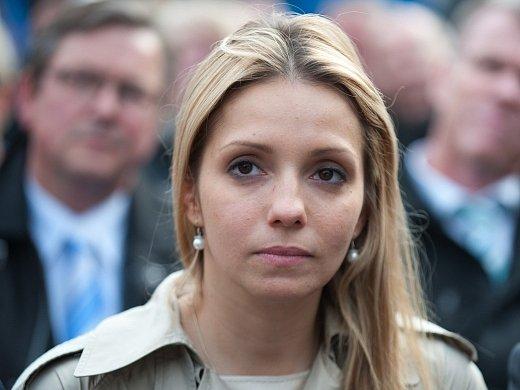 Jevhenija Tymošenková, dcera vězněné ukrajinské expremiérky