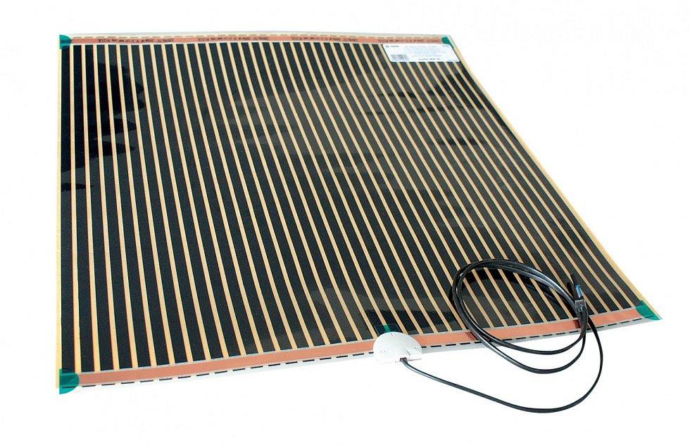Elektrické rohože jsou ideální pro podlahové topení do konkrétních potřebných míst.