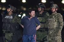 Mexiko vydalo USA narkobarona Joaquína Guzmána.