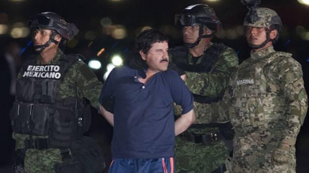 Drogový boss Guzmán uplácel mexického prezidenta. Zaplatil mu sto milionů dolarů