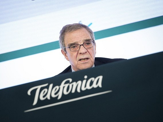 César Alierta.