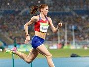 Zuzana Hejnová na olympijských hrách v Riu.