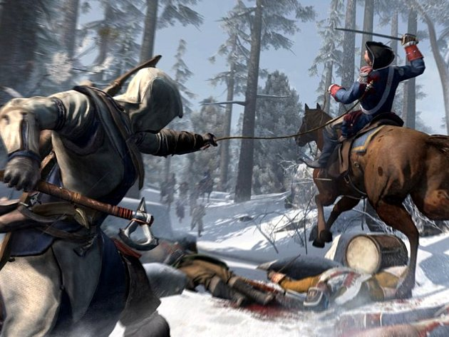 Počítačová hra Assassin's Creed 3.