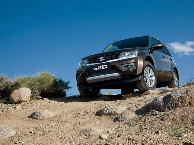 Nové Suzuki Grand Vitara