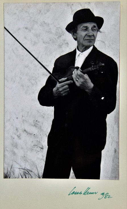 Autogram herce Josefa Kemra.