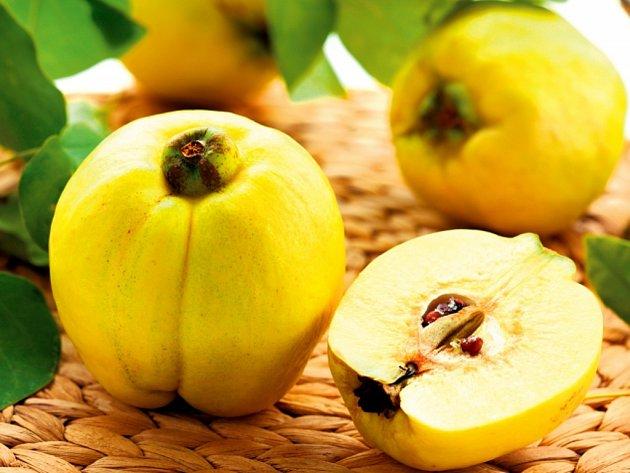 Kdoule jsou ideální na výrobu kompotů, marmelád či likérů.